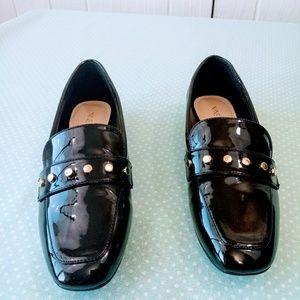 Nine West Black Loafers Size 6M
